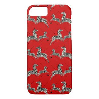 Classy Zebra iPhone 7 case Royal tennebaums