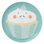 Claude Cupcake Plate! Plates