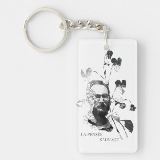 Claude Levi-Strauss Key Ring