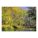 Claude Monet A Bend Of The Epte Greeting Card