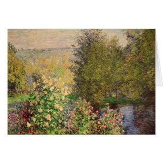 Claude Monet | A Corner of the Garden at Montgeron Card
