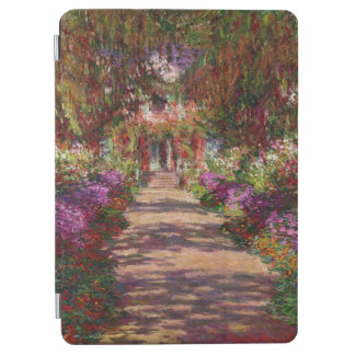 Claude Monet | A Pathway in Monet's Garden iPad Air Cover