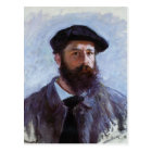 Claude Monet a Self-Portrait postcard