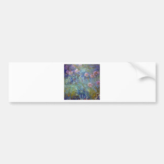 Claude Monet Agapanthus Bumper Stickers