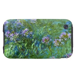 Claude Monet: Agapanthus Tough iPhone 3 Covers
