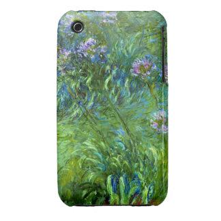 Claude Monet: Agapanthus iPhone 3 Case-Mate Case