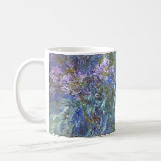 Claude Monet Agapanthus Coffee Mug