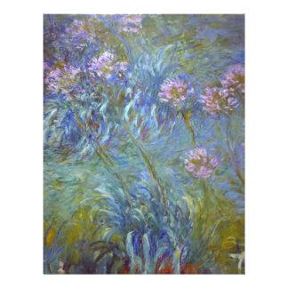Claude Monet Agapanthus Custom Flyer