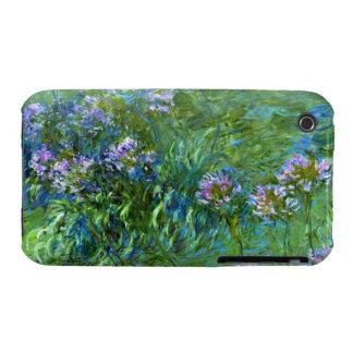Claude Monet: Agapanthus iPhone 3 Cases