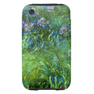 Claude Monet: Agapanthus iPhone 3 Tough Case