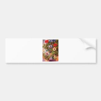 Claude Monet  Anemonen Bumper Sticker