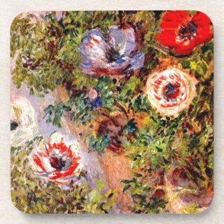 Claude Monet  Anemonen Coaster