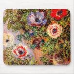 Claude Monet  Anemonen Mouse Pads