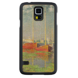 Claude Monet | Argenteuil, c.1872-5 Carved Maple Galaxy S5 Case