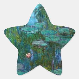 Claude Monet Artist Painter Destiny Gifts Star Sticker