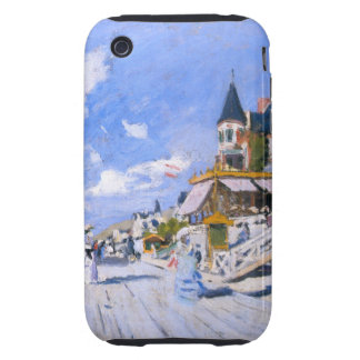 Claude Monet: At the Beach of Trouville iPhone 3 Tough Case