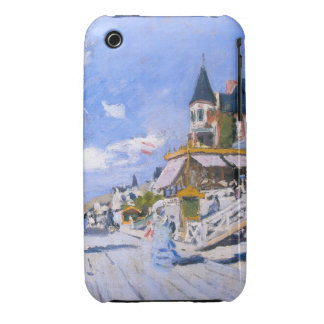 Claude Monet: At the Beach of Trouville iPhone 3 Case