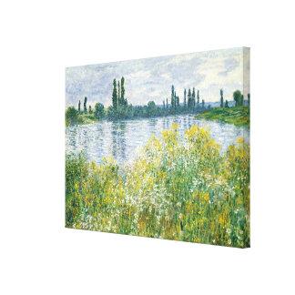 Claude Monet | Banks of the Seine, Vetheuil, 1880 Canvas Print