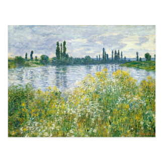Claude Monet | Banks of the Seine, Vetheuil, 1880 Postcard
