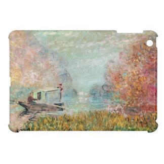 Claude Monet |  Boat Studio on the Seine Cover For The iPad Mini