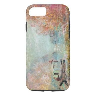 Claude Monet |  Boat Studio on the Seine iPhone 7 Case