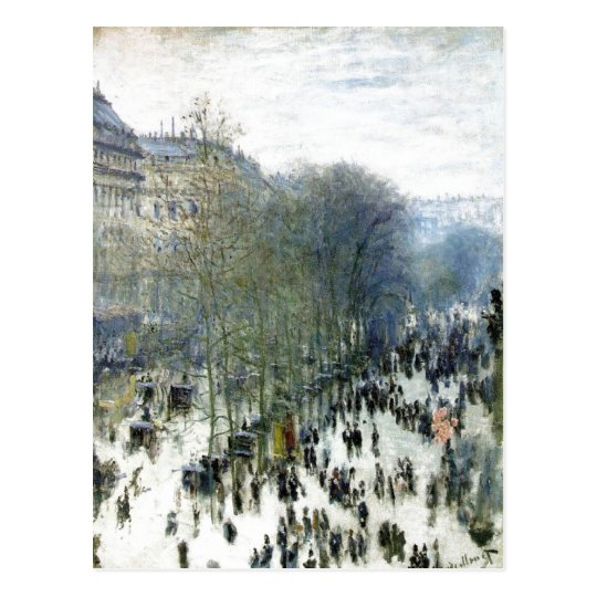 Claude Monet, Boulevard des Capucines, 1873 Oil on