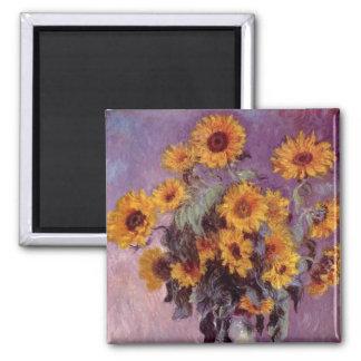 Claude Monet - Bouquet of Sunflowers Magnet