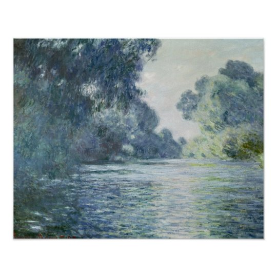 Claude Monet | Branch of the Seine near Giverny Poster