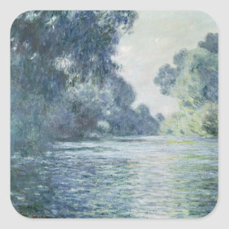 Claude Monet | Branch of the Seine near Giverny Square Sticker