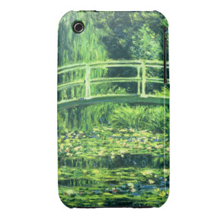 Claude Monet: Bridge Over a Pond of Water Lilies iPhone 3 Covers