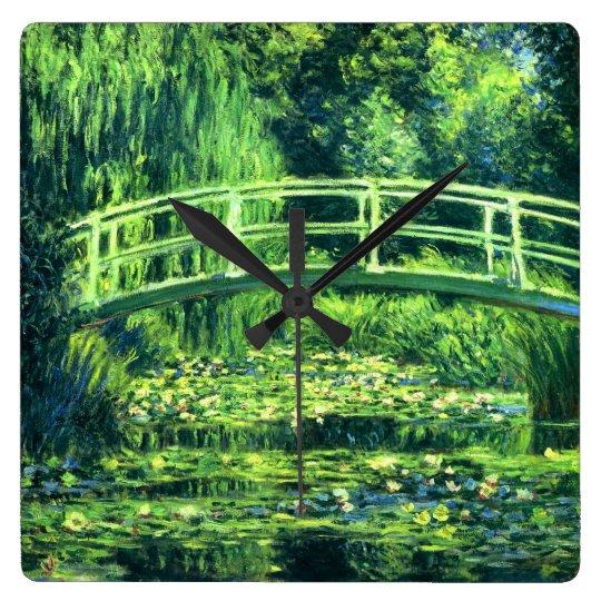 Claude Monet: Bridge Over a Pond of Water