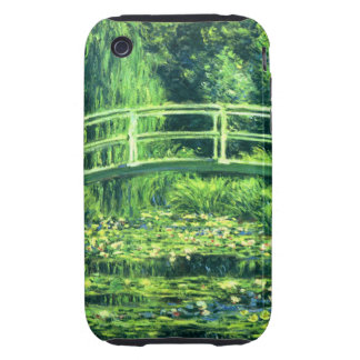 Claude Monet: Bridge Over a Pond of Water Lilies Tough iPhone 3 Cover