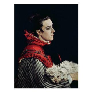 Claude Monet | Camille Monet Postcard