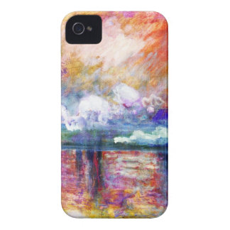 Claude Monet Charing Cross Bridge iPhone 4 Cases