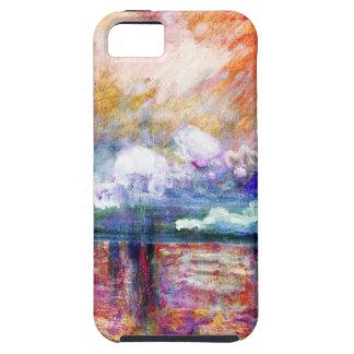 Claude Monet Charing Cross Bridge iPhone 5 Cover