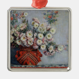 Claude Monet | Chrysanthemums, 1878 Christmas Ornament