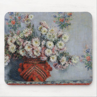 Claude Monet | Chrysanthemums, 1878 Mouse Mat