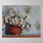Claude Monet | Chrysanthemums, 1878 Poster