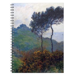 Claude Monet Church at Varengeville Notebook