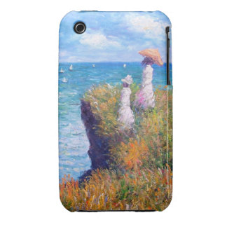 Claude Monet: Cliff Walk at Pourville iPhone 3 Covers