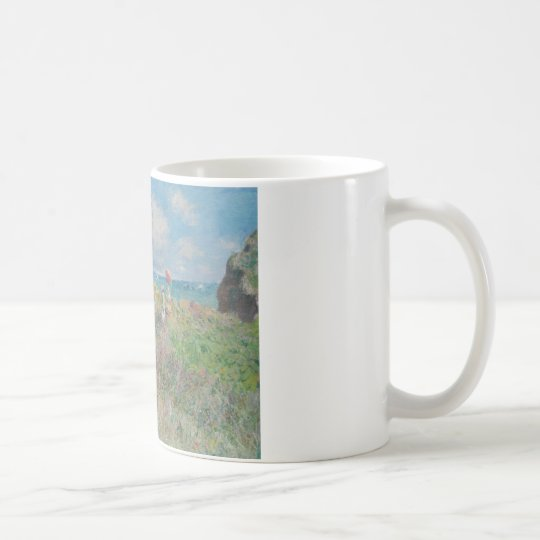 Claude Monet - Cliff Walk at Pourville Coffee Mug