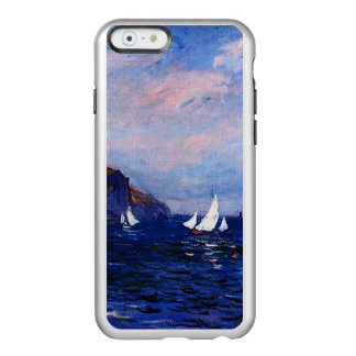 Claude Monet-Cliffs and Sailboats at Pourville Incipio Feather® Shine iPhone 6 Case