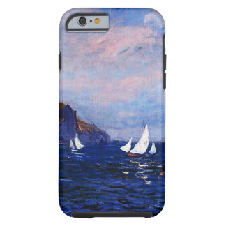 Claude Monet-Cliffs and Sailboats at Pourville Tough iPhone 6 Case