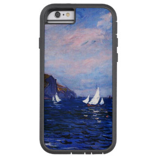 Claude Monet-Cliffs and Sailboats at Pourville Tough Xtreme iPhone 6 Case