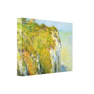 Claude Monet - Cliffs Canvas Prints