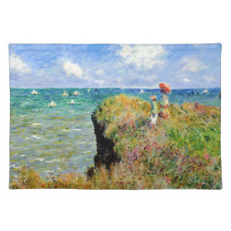 Claude Monet Clifftop Walk Placemat