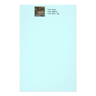 Claude Monet Customized Stationery