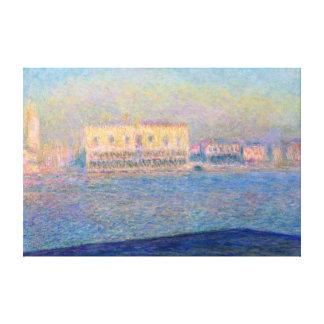 Claude Monet Doge's Palace San Giorgio Maggiore Canvas Print