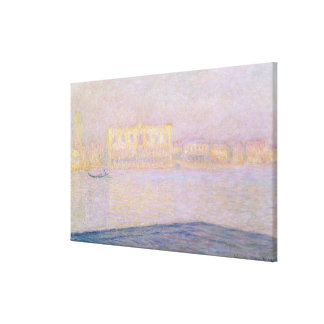 Claude Monet | Ducal Palace from San Giorgio, 1908 Canvas Print