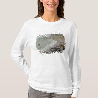 Claude Monet | Etretat, beach and Porte d'Amont T-Shirt